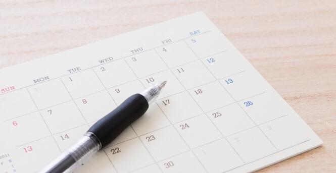 貸付期間は原則3か月です。